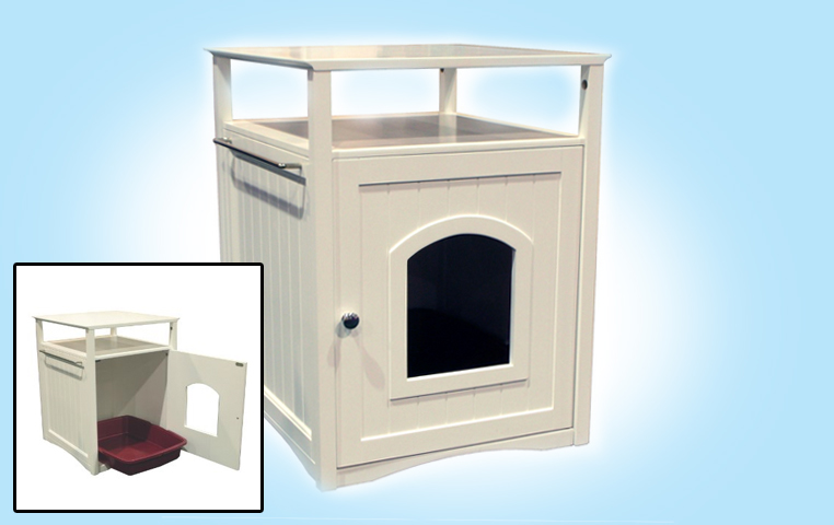 Cat Litter Box Furniture & Make A Place For Your Catu0027s Litter Box u2013 Hacks For Cats