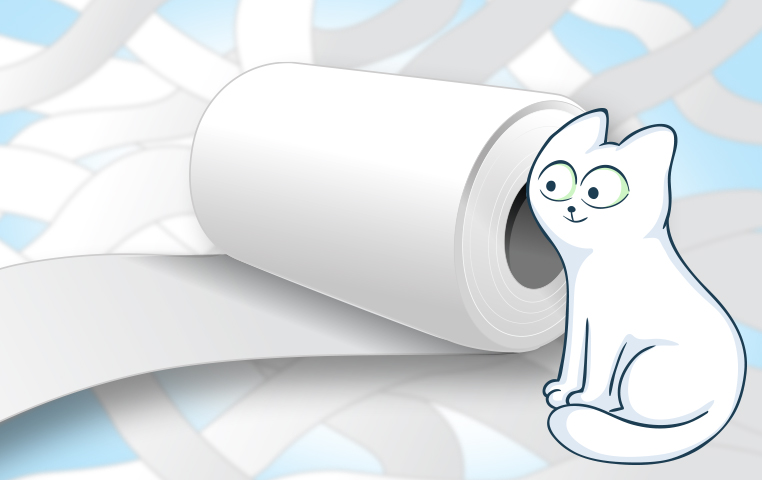 How To Protect Your Toilet Paper From Cats
