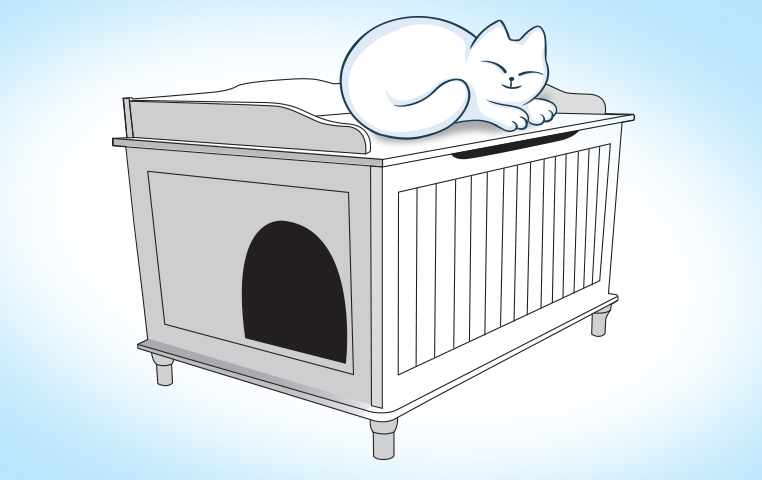 Litter Box Furniture Review Bench