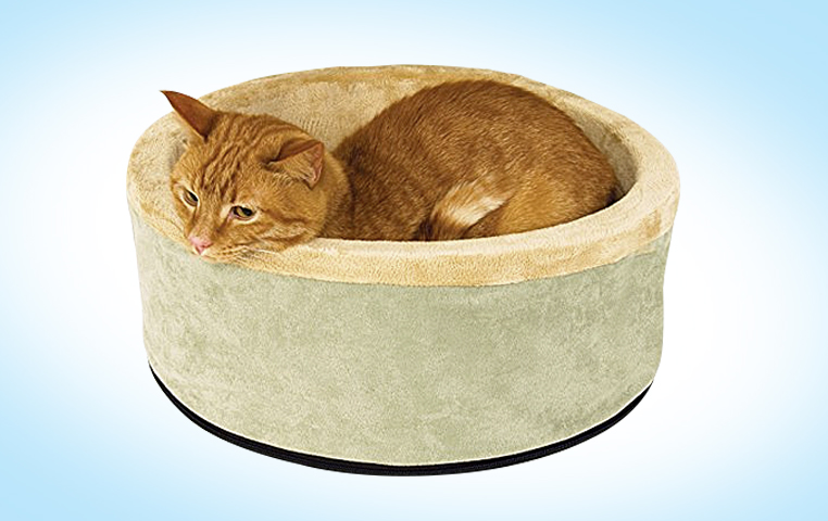 No Matter What The Temperature Is Outside Plug This Bed In And You Ll Never Be Able To Get Your Cat Out